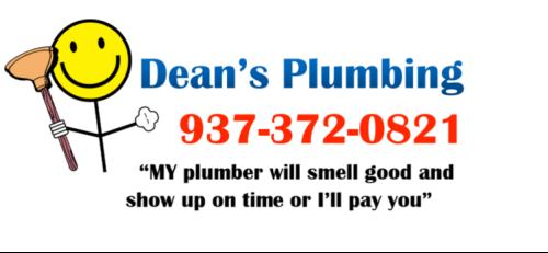 dean's plumbing logo
